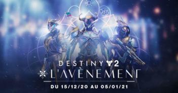 Préparez-vous à répandre l'esprit des fêtes avec l'Avènement dans Destiny 2 !