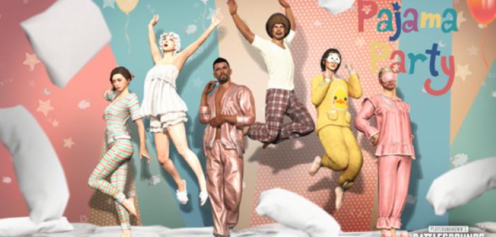 La mise à jour 11.2 et le pack Pajama Party débarquent sur PUBG