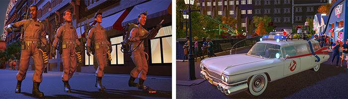 Les DLC Ghostbuster & Studios Pack de Planet Coaster : Console Edition sont disponibles !